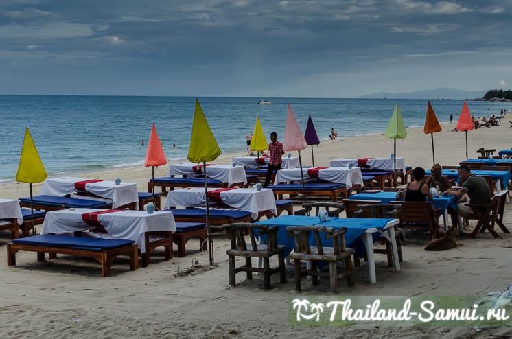 Ужин на пляже Ламай
