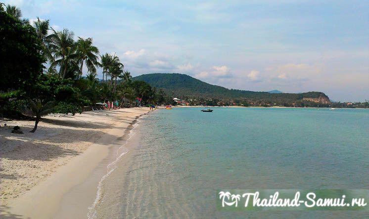 Фотография побережья пляжа Банграк