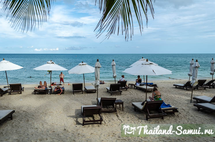 Пляж отеля Thai House Beach Resort